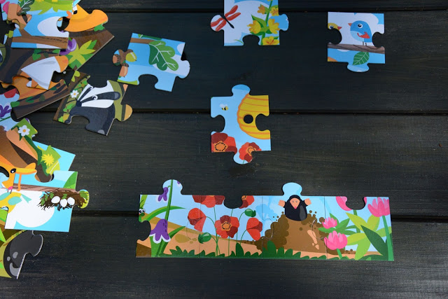 Moje pierwsze puzzle Łąka CzuCzu
