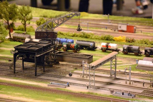 Wielka makieta kolejowa - bocznica