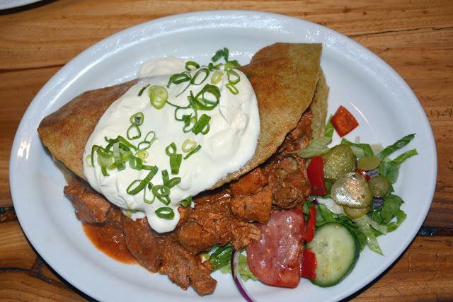 Gdzie zjeść w Zakopanem - Kolibecka, placek po zbójnicku