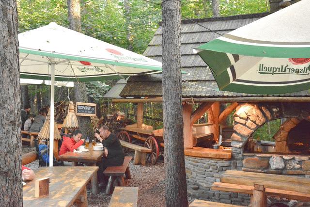 Gdzie zjeść w Zakopanem - duży ogródek, Kolibecka