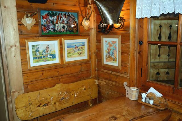 Gdzie zjeść w Zakopanem - przytulne wnętrze, Kolibecka